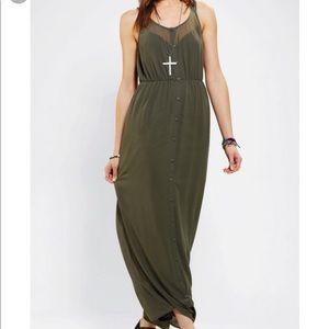 Urban Outfitters Sparkle & Fade Maxi Dress Sz L